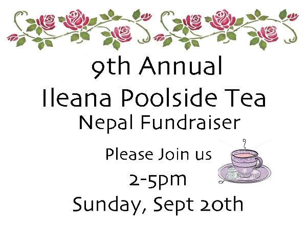 9th Annual Ileana Poolside Tea